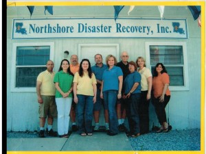 The original staff of Northshore Disaster Recovery, Inc. in 2006